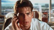 Tom Cruise appears in character in the film Jerry Maguire.