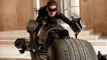 "Anne Hathaway as Catwoman in ""The Dark Knight Rises"": No 3-D, thanks (Ron Phillips/Warner Bros.)"