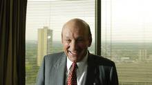 Seymour Schulich at his offices at Yonge and Eglinton in Toronto, Ont. Sept. 18/2006. (The Globe and Mail/Kevin Van Paassen/The Globe and Mail/Kevin Van Paassen)