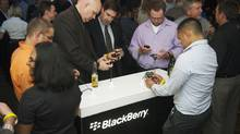 RIM called August's launch of several new BlackBerry devices the most successful in the company's history. (Mark Blinch/Reuters/Mark Blinch/Reuters)