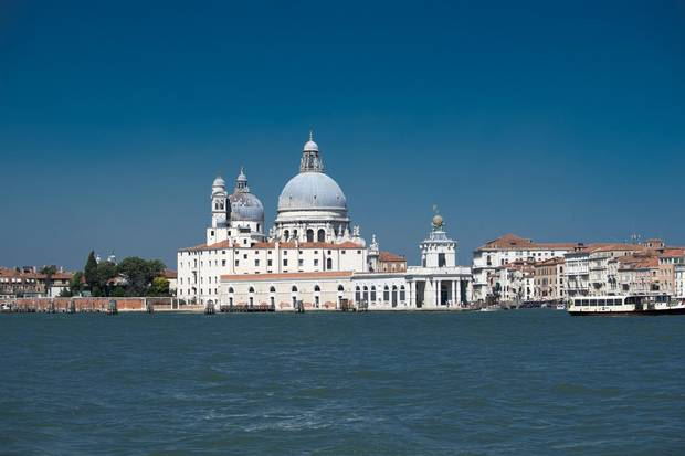 With sites such as the Santa Maria della Salute, you can't beat Venice as a singularly beautiful backdrop.