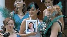 The iPad bridesmaid.