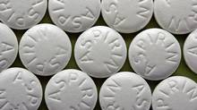 Aspirin tablets (Thinkstock)