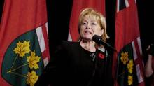 Madeleine Meilleur, Ontario's minister in charge of policing, has ordered her ministry to review how police across the province respond to the mentally ill. (Tibor Kolley/The Globe and Mail/Tibor Kolley/The Globe and Mail)
