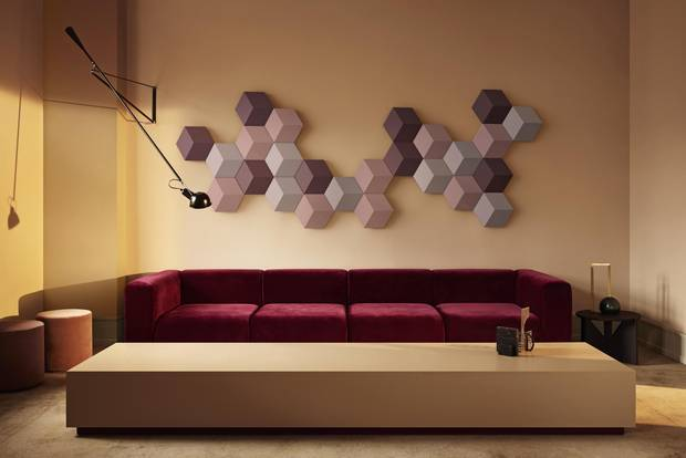 Beosound Shape speakers by Bang & Olufsen function as both a decorative piece and audio system.