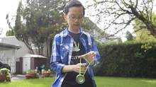 Harrison Lee is a 12-year-old yoyo prodigy from Vancouver (Brett Beadle for The Globe and Mail)