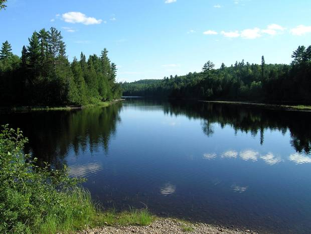 The raw wilderness of the Dumoine River once boasted a large hotel, multiple bars, several stores and Pontiac, a largesteamer that ran people and supplies in from Pembroke on the Ontario side.