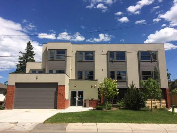The Calgary Alpha House Society Women's Housing, which opened in the fall 2017.