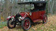 This 1912 model will be one of three Tudhope cars are on display this weekend. (John Smith)