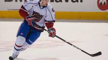 Blake Geoffrion scored a goal and an assist as the Hamilton Bulldogs defeated the Abotsford Heat 2-1 in AHL action on Sunday (file photo). (Peter McCabe/The Globe and Mail)