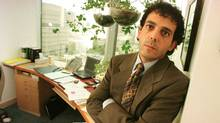 Lawyer Frank Addario in his office. (Tibor Kolley/The Globe and Mail/Tibor Kolley/The Globe and Mail)