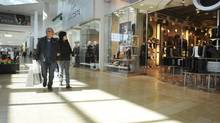Shoppers are photographed at Yorkdale Mall in Toronto in this file photo. (Kevin Van Paassen/The Globe and Mail)