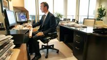 Teck Resources CEO Donald Lindsay is seen in his Vancouver office in this file photo. (LAURA LEYSHON for The Globe and Mail)
