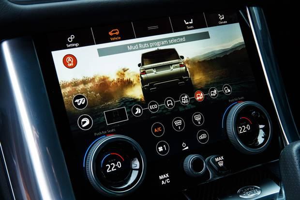 Range Rover Sport SVR Global Media Drive