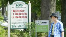 The Ontario Human Rights Commission has issued a reminder about discriminatory language in advertisements for rental acommodation. (Kevin Van Paassen/The Globe and Mail)