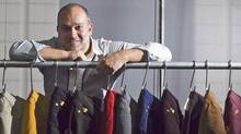 Eric Wazana, founder of Montreal-based Second Denim Co. (Christinne Muschi/Christinne Muschi for The Globe and Mail)