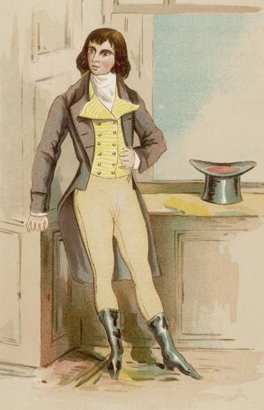 Beau Brummell, equated now with frippery, actually heralded a move to simplicity. (Mary Evans Picture Library)