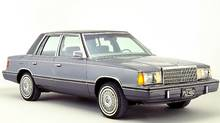 1982 Plymouth Reliant (Chrysler)