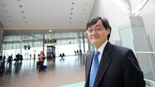 Howard Eng is the Greater Toronto Airports Authority's new chief executive officer. (Kevin Van Paassen/Kevin Van Paassen/The Globe and Mail)
