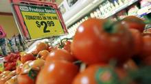 Fresh vegetables, meat, grains and cooking oil are all expected to rise in price. (Mario Tama/Getty Images/Mario Tama/Getty Images)