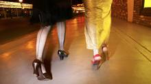 Nice shoes, but not for walking the Las Vegas Strip. (Thinkstock Images)