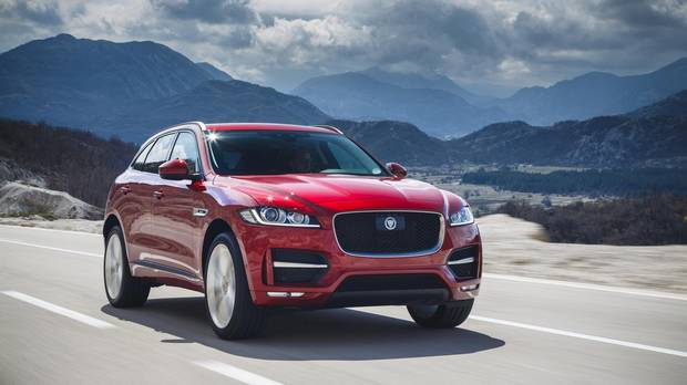 World Car Design of the Year: Jaguar F-Pace