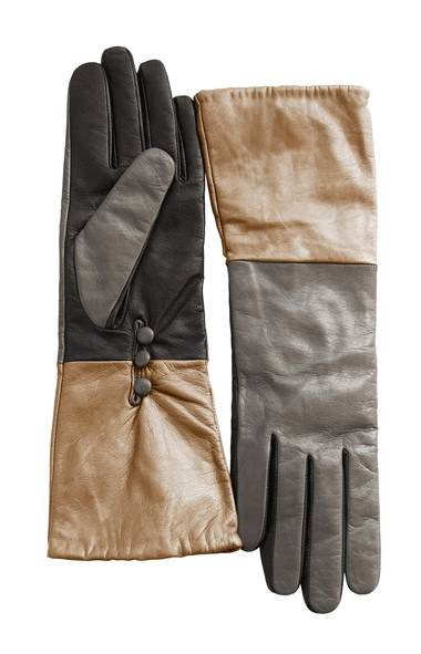 Danier leather gloves, $65 through www.danier.com.