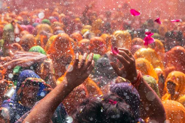 """Holi – also known as the """"festival of colours"""" or """"festival of love"""" – is a Hindu celebration that marks the arrival of spring."""