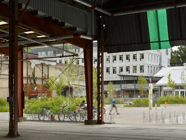 As part of the team that reimagined Toronto's Evergreen Brick Works, Megan Torza contributed to the reinvention of the site as an eco-friendly hub for community, arts and social initiatives.