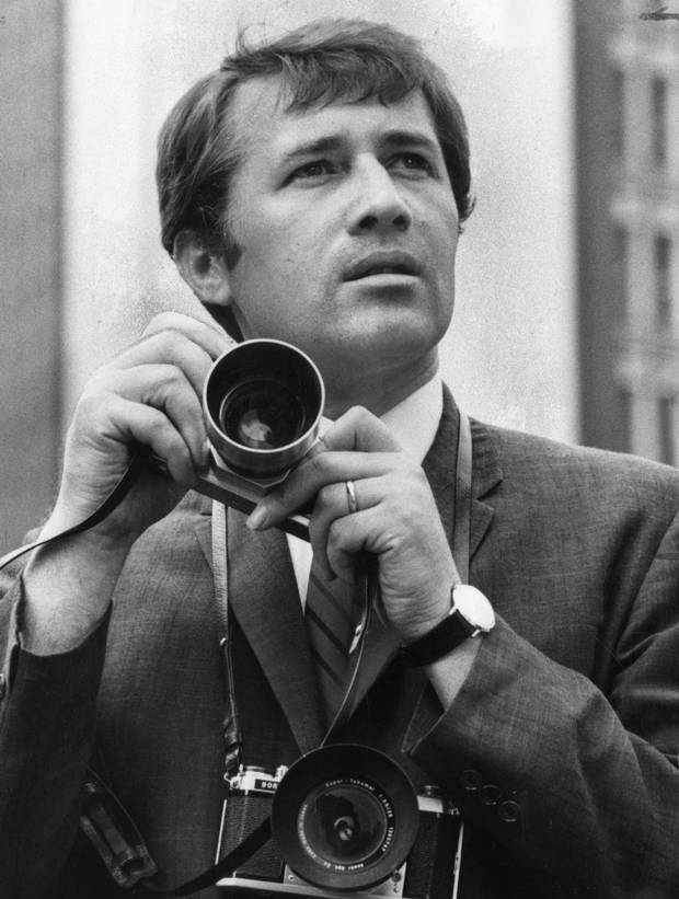 A photo of photographer Boris Spremo in 1966