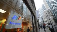 Located in the shadows of the banking towers in downtown Toronto is the Manpower office located at 60 Yonge St. (Fred Lum/The Globe and Mail)