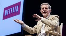CEO Reed Hastings is wary of complacency. 'We have to stay on our toes – it would be tragic for us to be Netscape and invent a model and then get run over by the big guys.' (Michelle Siu/The Globe and Mail)