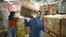 Inside the Ontario Food Terminal in Toronto (Kevin Van Paassen/Kevin Van Paassen/The Globe and)