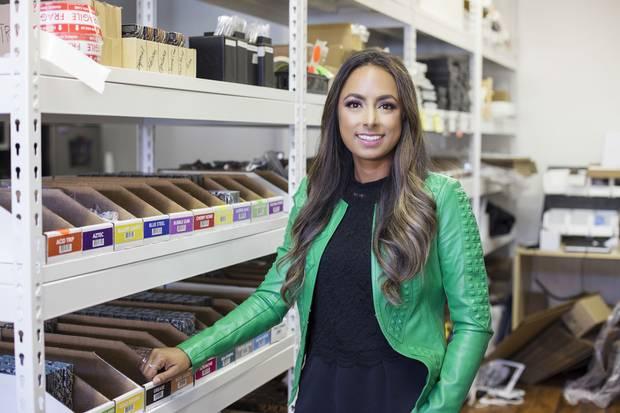Shaina Haynes, 32. Surrey, BC. CEO at SUVA Beauty. Canadian.
