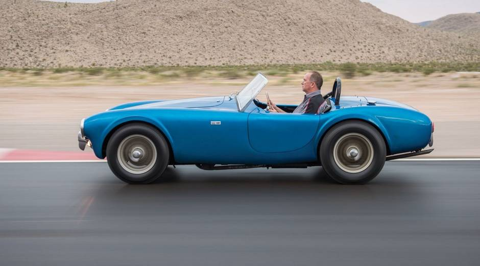 First Shelby Cobra sells for $17 7-million, priciest