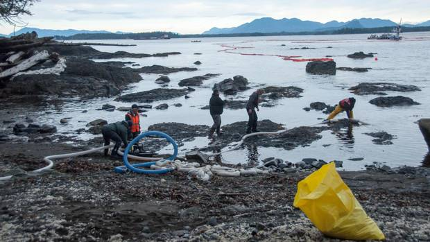 The Heiltsuk Nation, which relies on beaches near the tug accident site, has called the situation a disaster.