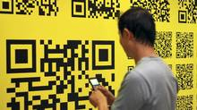 The paper is peppered with 169 individual QR codes directing anyone who scans them to designers Anita Modha and Jonathan Nodrick's favourite websites.