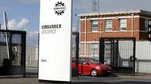 Bombardier aerospace in East Belfast, Northern Ireland (PETER MORRISON/Peter Morrison/AP)