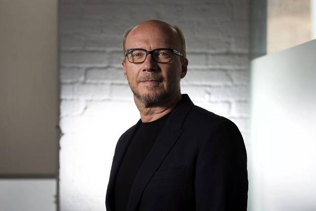 Director Paul Haggis poses for a photo in Toronto during the 2014 Toronto International Film Festival.