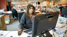 Rakhi Henderson, is photographed at the ING offices at Steeles Ave in Toronto, Ont. February 25, 2011. (Kevin Van Paassen/The Globe and Mail/Kevin Van Paassen/The Globe and Mail)