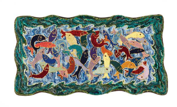 Deanne Fitzpatrick's School of Fish.