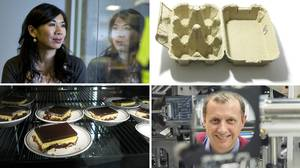 Clockwise from top left: Neurio sensor inventor Janice Cheam (Rafal Gerszak for The Globe and Mail), a sta