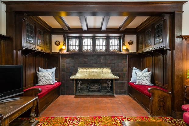 The home's inglenook