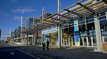 Improvements to the Seaport District of Halifax have brought new life to the historical area. (Sandor Fizli for The Globe and Mail)