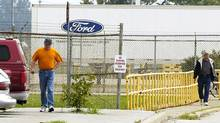 Ford's Essex Engine plant in Windsor, Ont., is among those whose summer shutdown is being cut to just one week. (CRAIG GLOVER/CP)