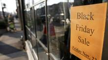 Sales among Canadian retailers were nearly flat in September, according to the latest measure released Thursday, weaker than expected and evidence of the pressure among merchants to push aggressive U.S.-style promotions to stanch the loss of customers to the United States. (Fernando Morales/The Globe and Mail)