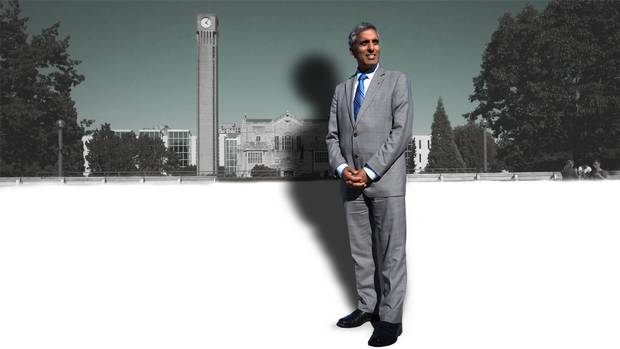 Dr. Arvind Gupta resigned one year into what was supposed to be a five-year term sparking rumours and recriminations on campus that threaten to damage the reputation of one of Canada's globally ranked universities.