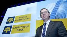 File photo of Rejean Robitaille, president and chief executive officer of Laurentian Bank. (CHRISTINNE MUSCHI/REUTERS)