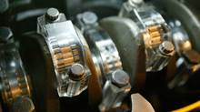 Timken's Engine Antifriction Bearings are seen in this file photo. (ROB WIDDIS/AP)