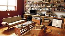 Choreographer Christopher House's living room (Fernando Morales/The Globe and Mail)